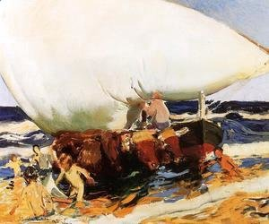 Joaquin Sorolla y Bastida - On the Beach, Valencia