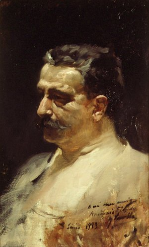 Retrato de Antonio Elegido (Portrait of Antonio Elegido)