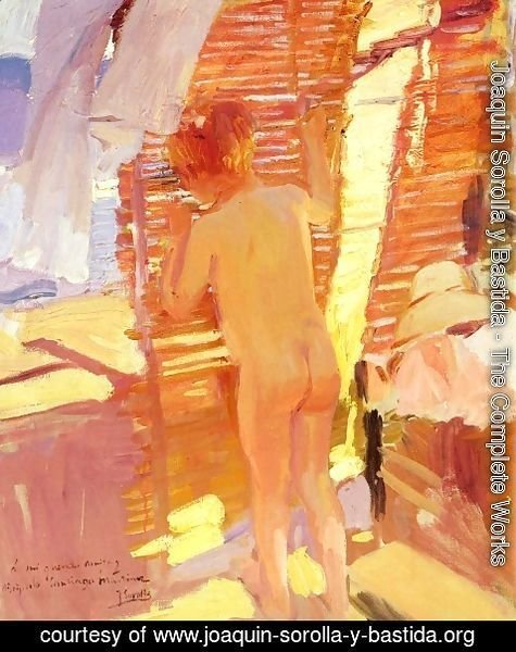Joaquin Sorolla y Bastida - La nina curiosa (The Inquisitive Child)