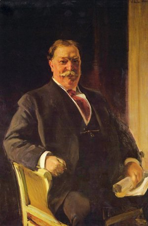 Retrato del Sr. Taft, Presidente de los Estados Unidos (Portrait of Mr. Taft, President of the United States)