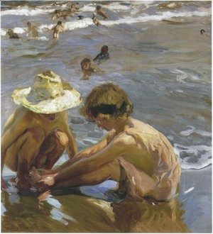 Joaquin Sorolla y Bastida - The Wounded Foot
