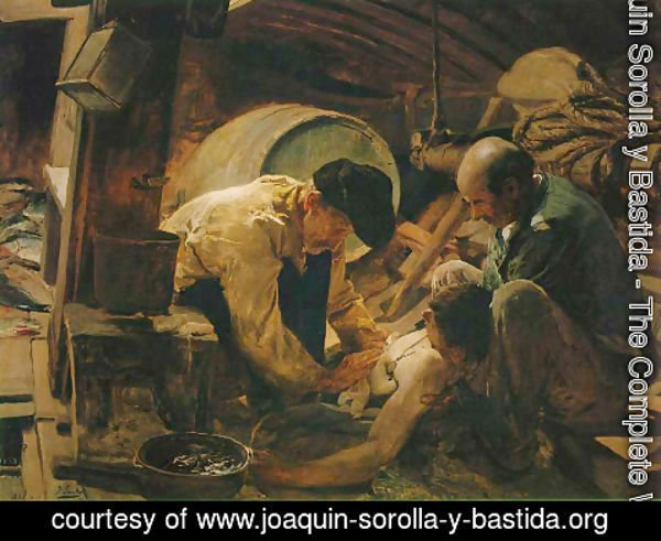 Joaquin Sorolla y Bastida - They Still Say that Fish is Expensive!