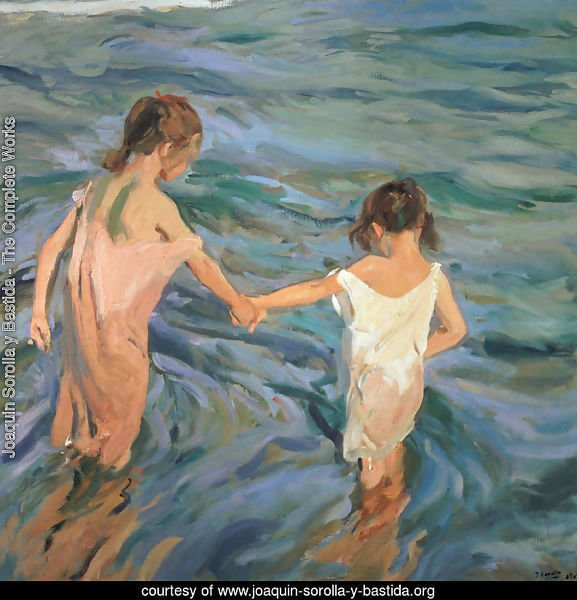 Children in the Sea, 1909
