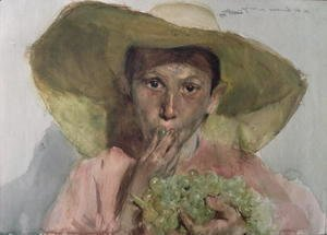 Boy Eating Grapes, 1890