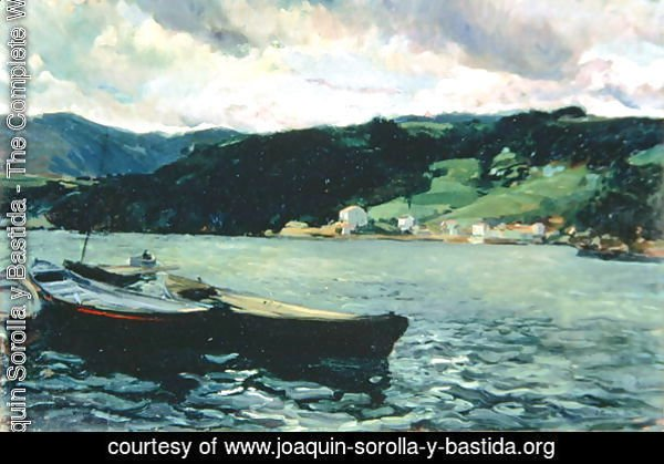 Estuary of the Nalon, Asturias