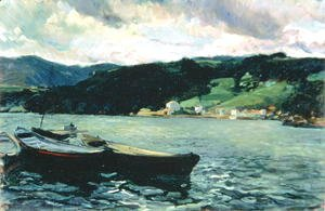 Joaquin Sorolla y Bastida - Estuary of the Nalon, Asturias
