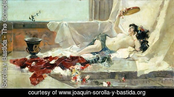 Bacchante  Woman Undressed  1887