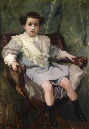 Portrait of the Son of Alejandro de Anitua (Retrato del hijo de Alejandro de Anitua)