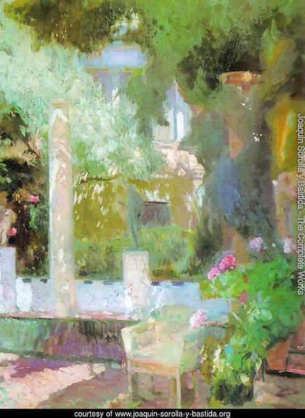 Garden of Sorolla house