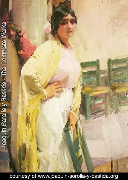 Joaquin Sorolla y Bastida - Maria the beautiful