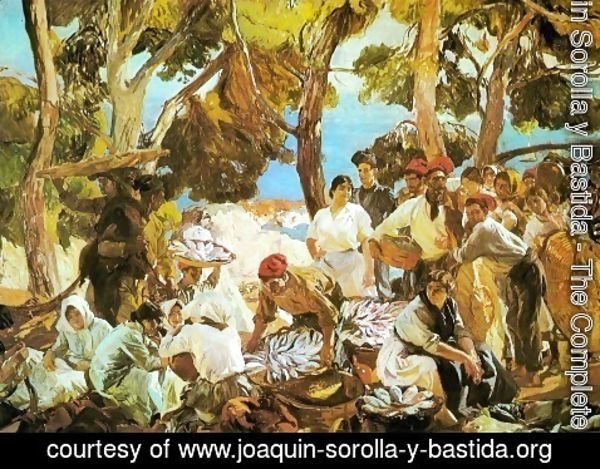 Joaquin Sorolla y Bastida - The Fish (Catalonia)