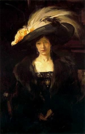 Clotilde with hat