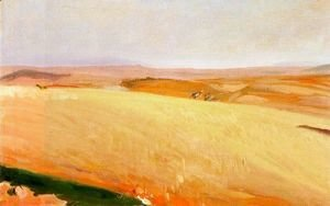 Joaquin Sorolla y Bastida - Field of wheat, Castilla