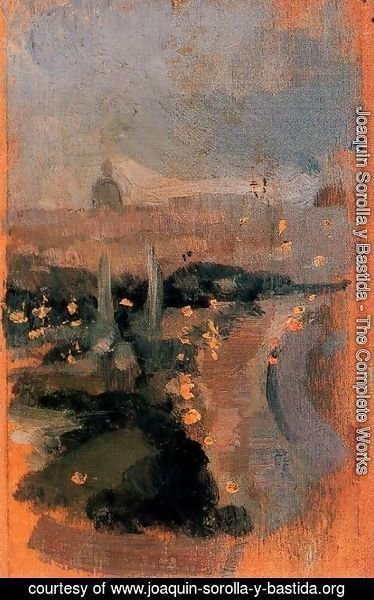 Joaquin Sorolla y Bastida - Landcape of Paris