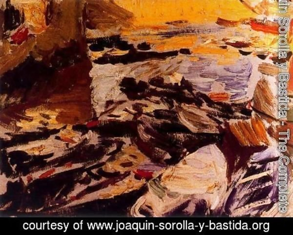 Joaquin Sorolla y Bastida - Port of passages 2