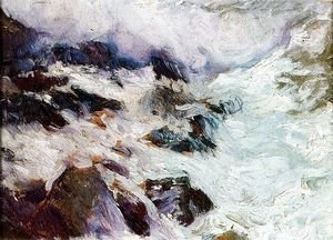 Joaquin Sorolla y Bastida - Sea and rocks (Javéa)