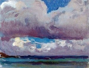 Joaquin Sorolla y Bastida - Storm on the Sea (San Sebastian)