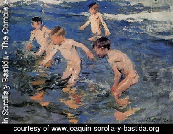 El Baño Del Caballo Joaquin Sorolla | Joaquin Sorolla Y Bastida The Complete Works The Bath