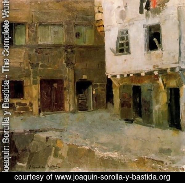 Joaquin Sorolla y Bastida - The House of Victor Hugo in Airline