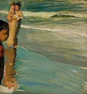 Joaquin Sorolla y Bastida - En La Playa De Valencia (On The Beach, Valencia)
