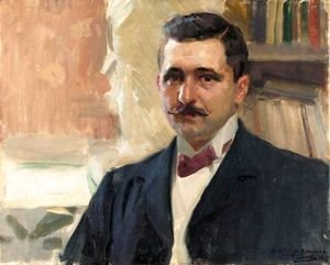 Retrato Del Pintor D. Felipe Abarzuza (Portrait Of The Painter D. Felipe Abarzuza)
