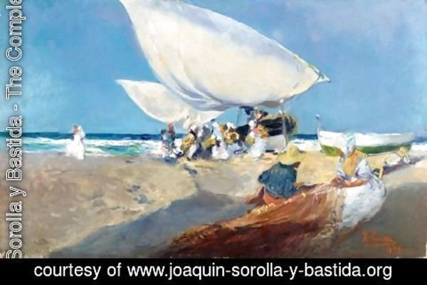 Joaquin Sorolla y Bastida - Mending The Nets