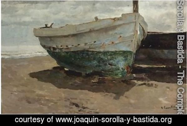 Joaquin Sorolla y Bastida - Barcas En La Playa (Boats On The Beach) 2