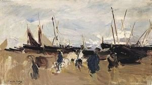 Joaquin Sorolla y Bastida - Barcas En La Playa (Boats On The Beach) 3