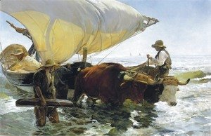 Joaquin Sorolla y Bastida - Return from Fishing 2