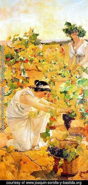 Joaquin Sorolla y Bastida - Grape Harvest