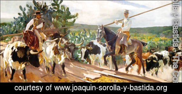Joaquin Sorolla y Bastida - Andalusia, The Round Up