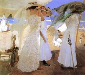 Joaquin Sorolla y Bastida - Beneath the Canopy