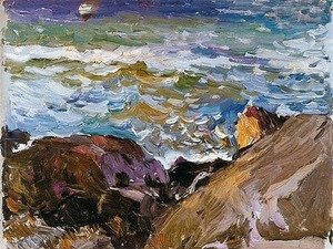 Joaquin Sorolla y Bastida - Sea at Ibiza