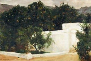 Joaquin Sorolla y Bastida - Orange trees on the road to Seville