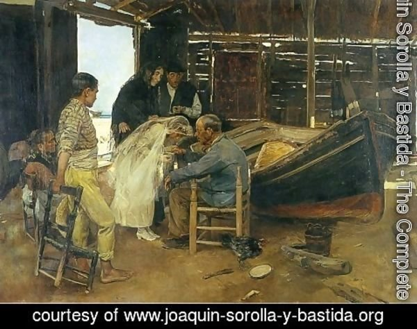 Joaquin Sorolla y Bastida - The happy day