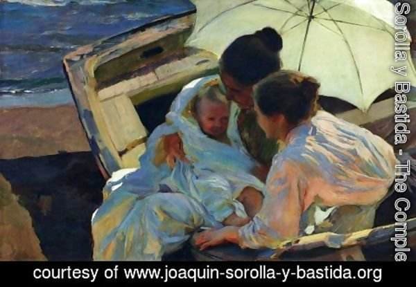 Joaquin Sorolla y Bastida - After the Bath