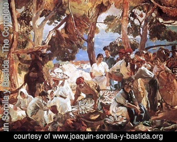 Joaquin Sorolla y Bastida - The Fish (Catalonia) 2